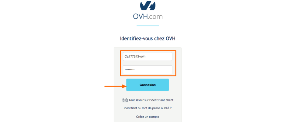 redirection de nom de domaine OVH comment faire